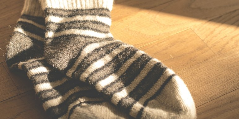 Woolen socks for winter