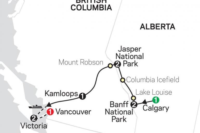 Alberta Banff National Park Heart of the Canadian Rockies Trip