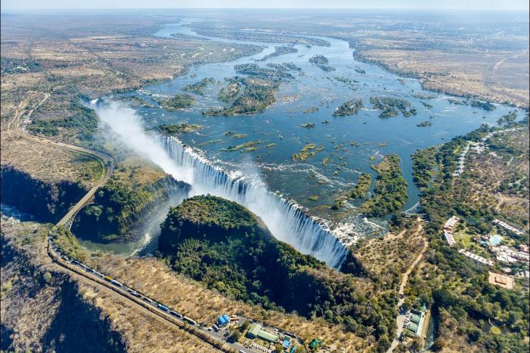 Maun Okavango Delta Johannesburg to Zanzibar Trip