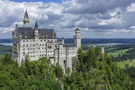 The Germany - Castle Untour tour