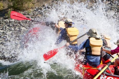 Rafting Hells Canyon tour