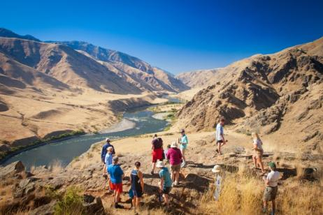Hiking the Snake River in Hells Canyon tour