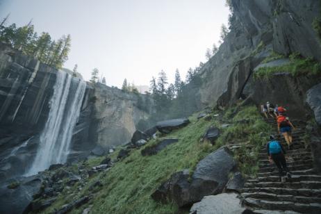 Yosemite Falls Backpacking