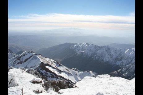 Winter Toubkal