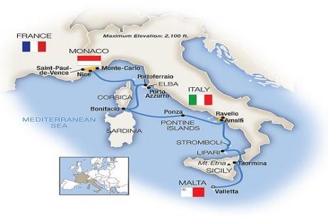 Treasures of the Mediterranean - Northbound 2018 tour