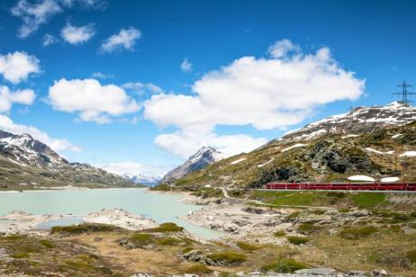 Alpine Lakes and Scenic Trains featuring cruises on Lake Como & Lake Maggiore and scenic trains in Switzerland & Italy