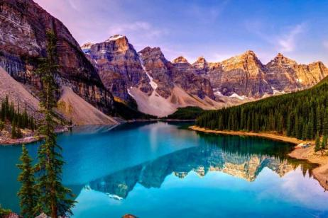 Spectacular Canadian Rockies with Rocky Mountaineer Silverleaf and Alaska Cruise Inside Stateroom