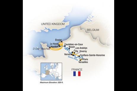 Rendezvous on the Seine tour