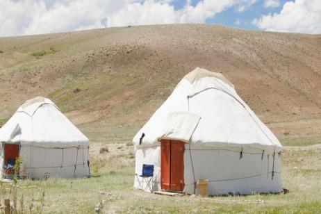Ashgabat to Bishkek tour
