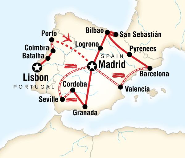 Algarve Barcelona Ultimate Spain & Portugal Trip