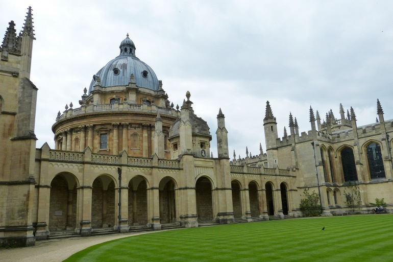 Oxford view at England, Europe_P