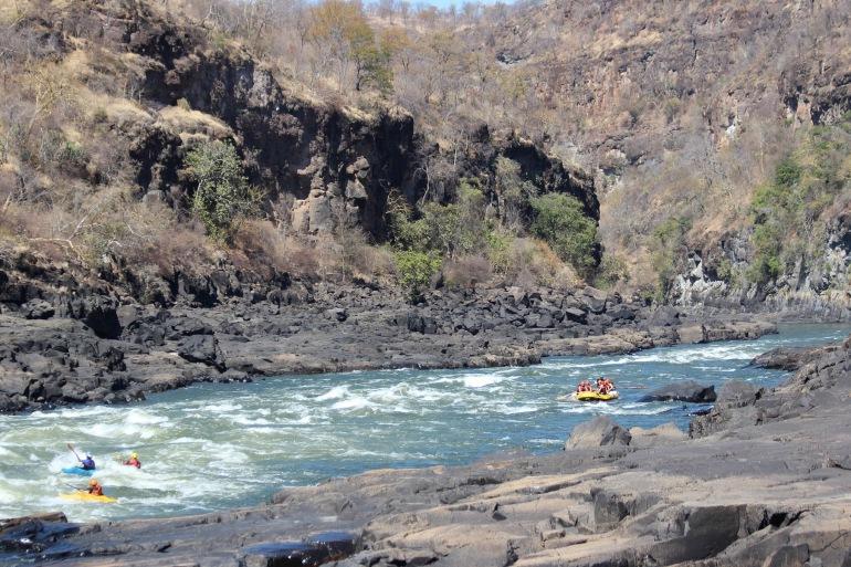 Zambezi Rafting Victoria Falls, Zambia