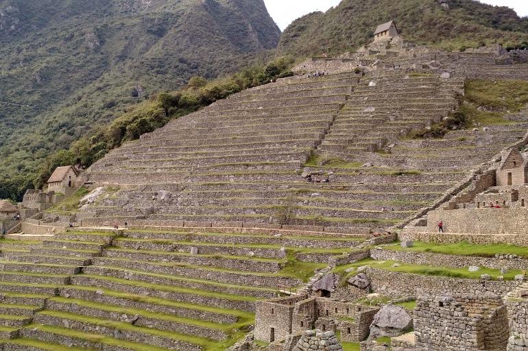 Beautiful view of Machu Picchu, South America
