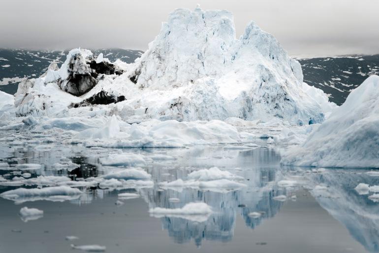 Ice berg in Greenland, Russia