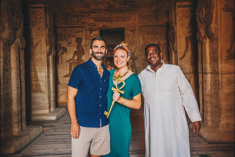 Luxor Temple Madaba Premium Egypt & Jordan in Depth Trip