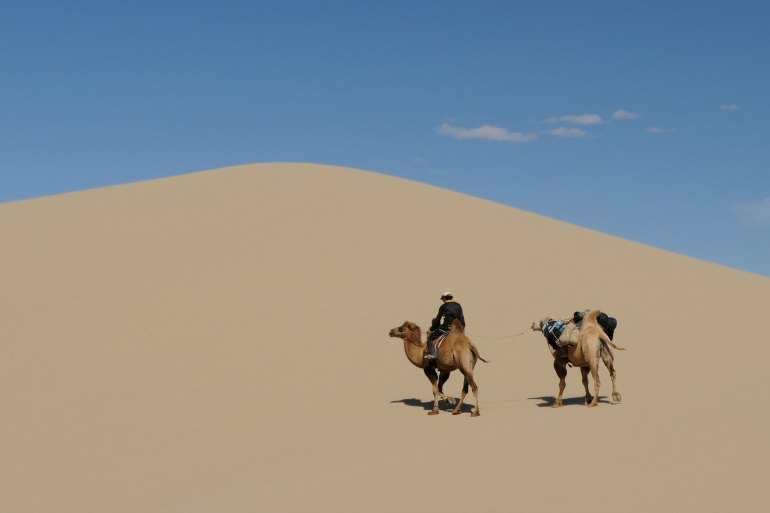 Gobi Desert in Mongolia