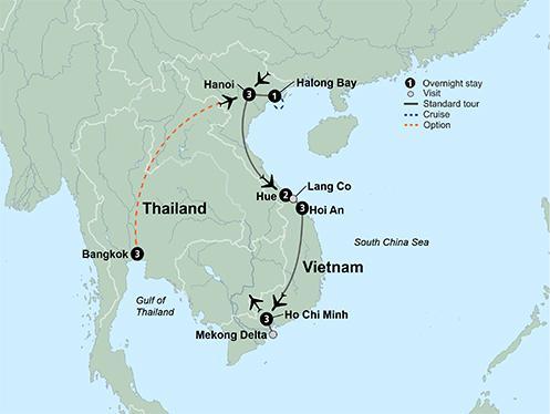 50 plus Culture Taste of Vietnam  package