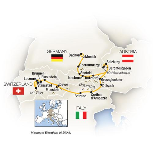 The Ultimate Alps & Dolomites 2019 tour