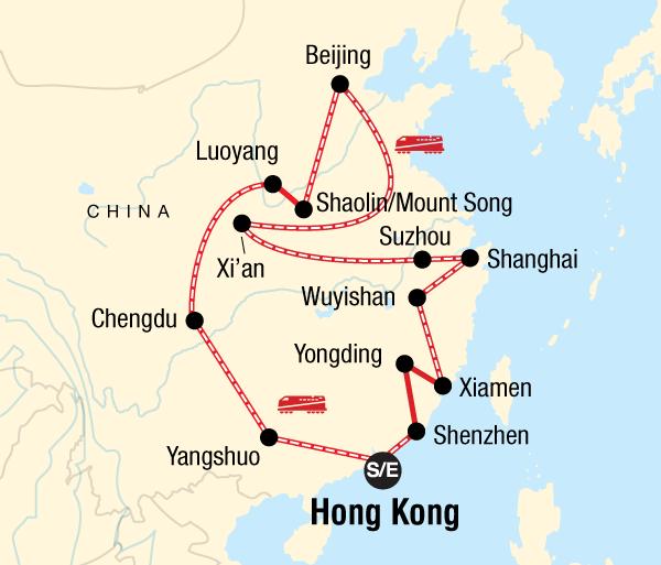 Beijing Chengdu Ultimate China on a Shoestring - Hong Kong to Hong Kong Trip