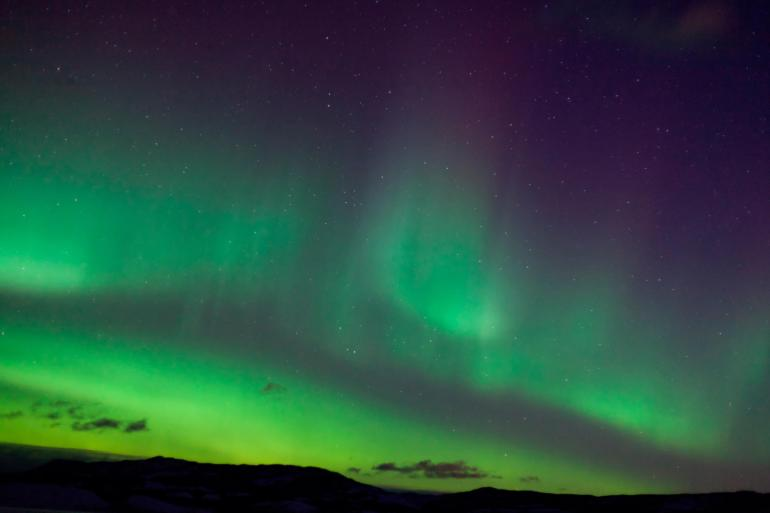 Nature & Wildlife Nature Greenland's Northern Lights - Fly & Cruise package