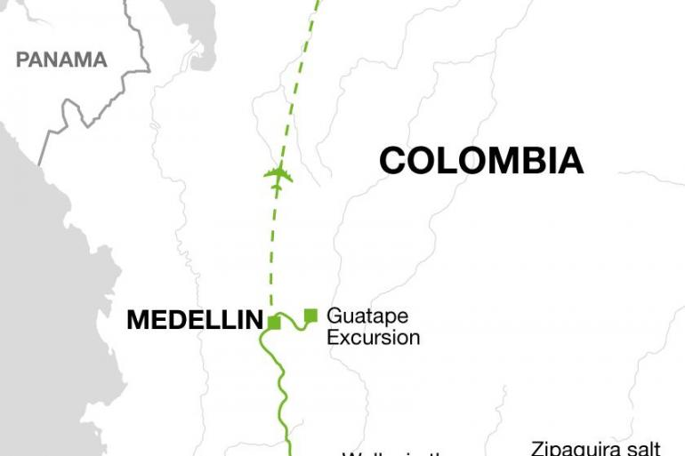 Cartagena Medellin  Highlights of Colombia Trip