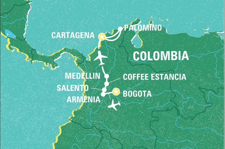 Cultural Culture Best of Colombia  package