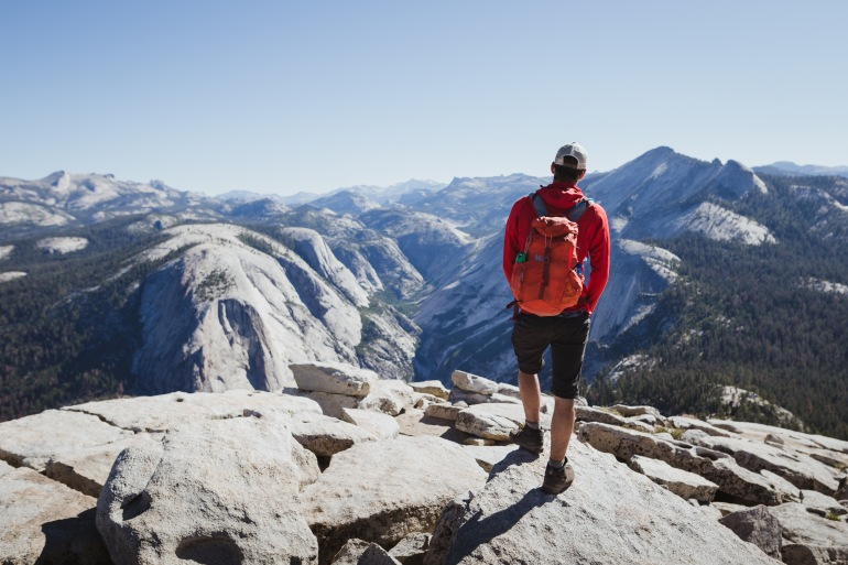 Yosemite Half Dome Backpacking