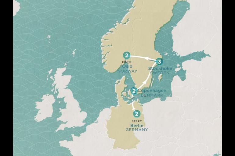 Berlin Copenhagen Scandi Express Trip