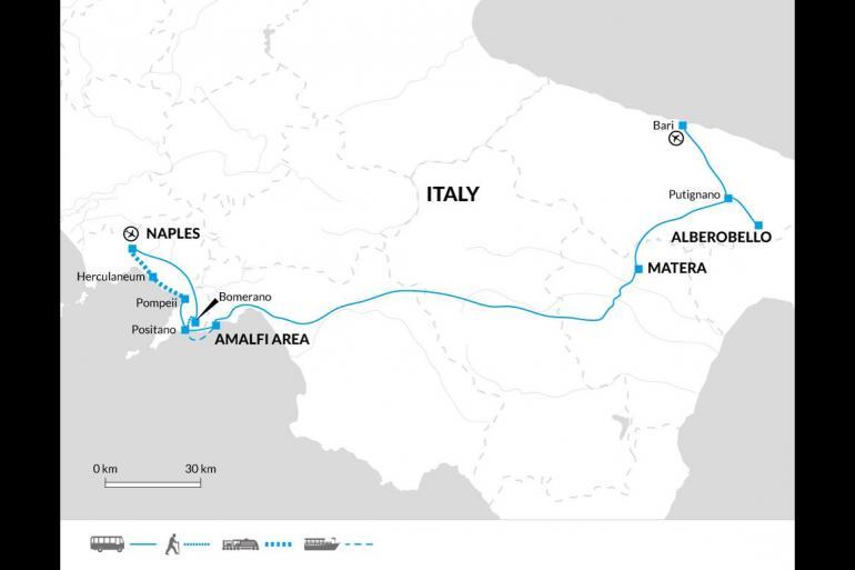 Matera Naples Highlights of the Amalfi Coast and Puglia Trip