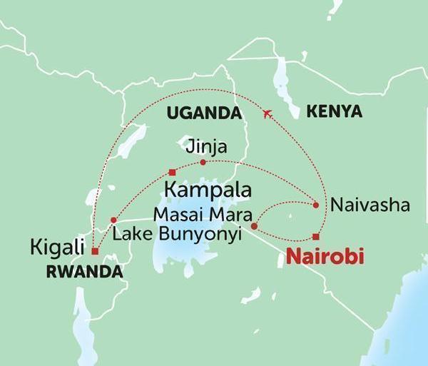 East Africa Circuit tour