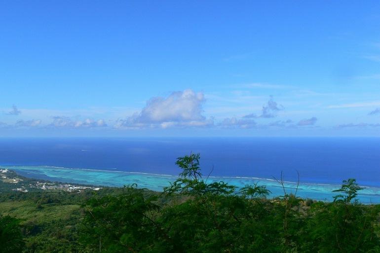 Blue shade Saipan Island beach and cloud-United States-175424_1280_p