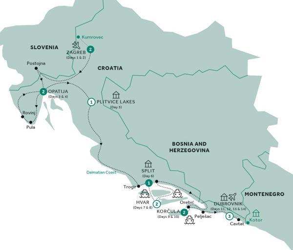 Croatia Dubrovnik Country Roads of Croatia (Summer 2019) Trip