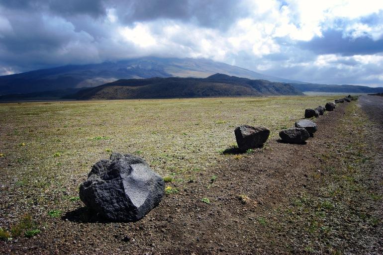 Cotapaxi Volacano with Nature View, Ecuador