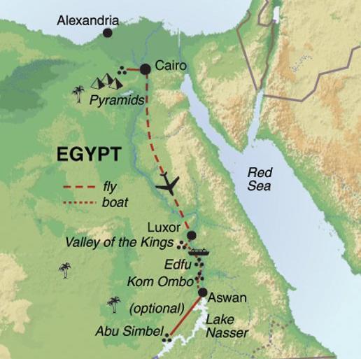 Cultural Culture Nile Cruise - Premium package