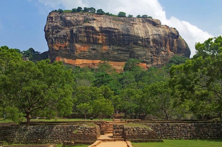 Sigiriya Holy Mountain View, Sri Lanka