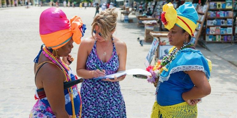Solo female traveler in Havana, Cuba
