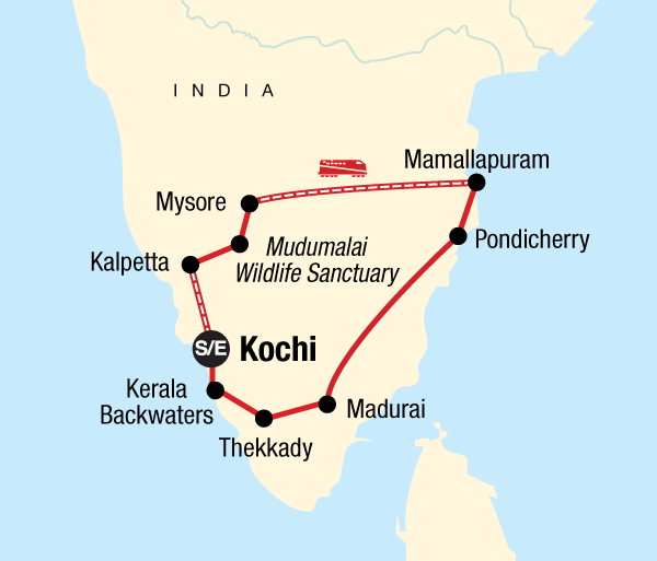 Chennai Kerala Best of Southern India Trip