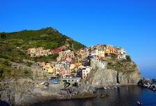 Cinque Terre along the Italian coast