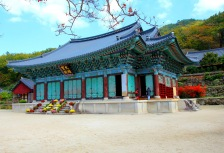 Temple in South Korea attraction