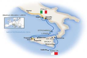 Sicily, the Amalfi Coast & Rome - Southbound 2018 tour