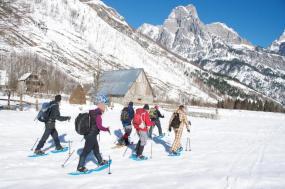 Snowshoeing in Albania tour