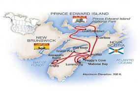 Nova Scotia & Prince Edward Island 2018 tour
