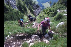Trekking the Transylvanian Alps tour