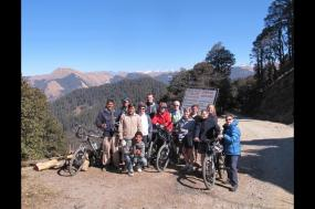 Cycling India's Hill Stations tour