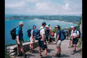Walking The Corfu Trail tour