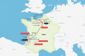 A Portrait of Majestic France tour