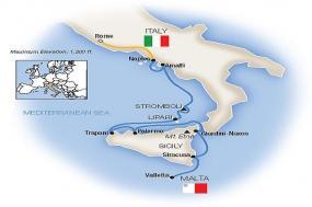 Sicily, the Amalfi Coast & Rome - Southbound 2019 tour