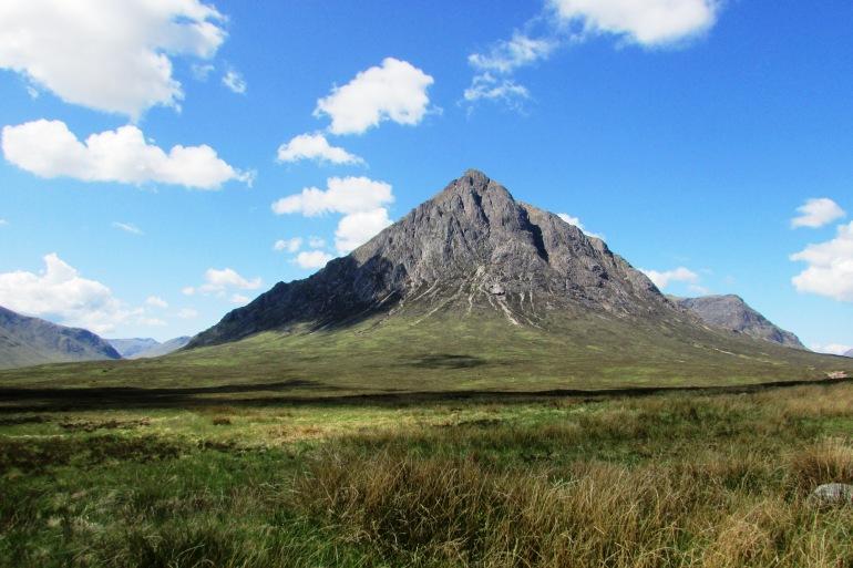 Scottish Mountain at Glencoe, Scotland_P