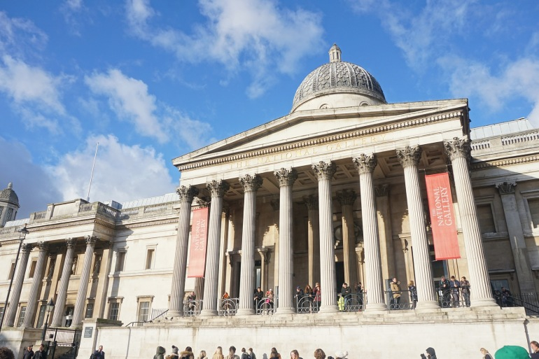 The British Museum in London, England_P