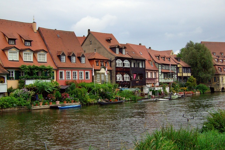 Town view of Bamberg, Europe_P